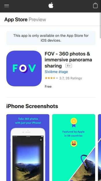FOV App