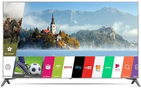 LG 4K UHD Smart LED TV