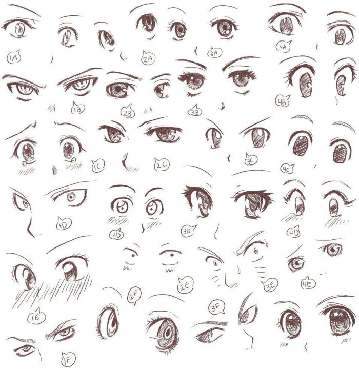 Anime and Manga Eyes