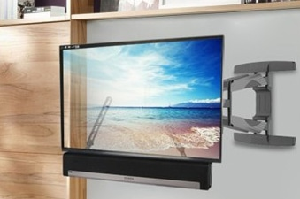 Soundbar Below TV