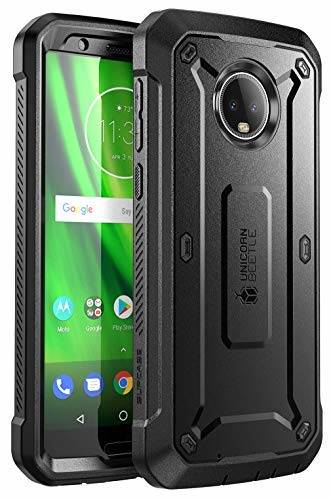 Moto G6 Unicorn Beetle Pro Full Body Rugged Holster Case
