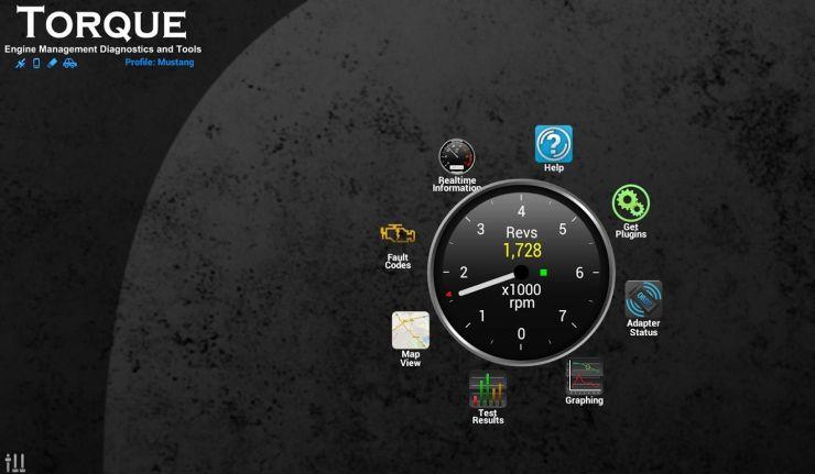Screenshot from Torque Pro