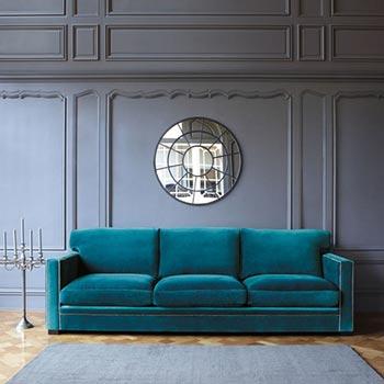 Canaps Bleu Vert Et Vert Bleu Mobilier Canape Deco