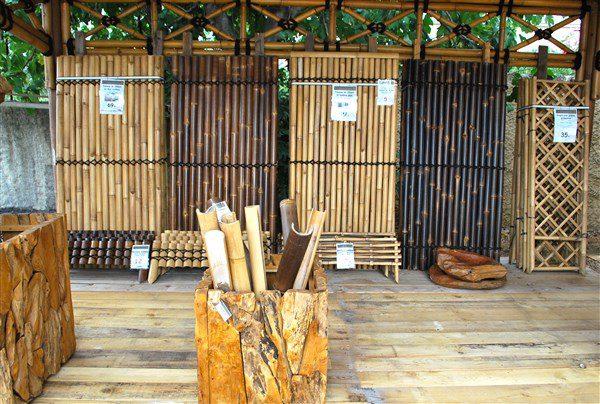 panneau bambou vente abris de jardin