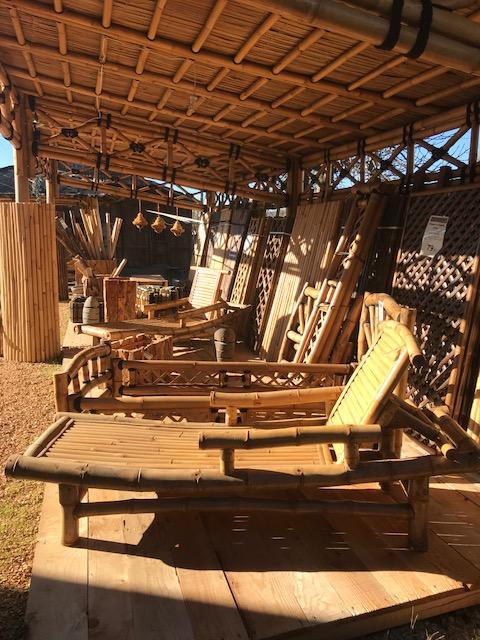 bain de soleil en bambou vente abris