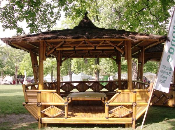 Gazebo Passion Vente Abris De Jardin En Bambou Et
