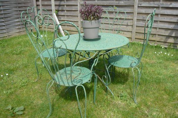 Stunning Petite Table De Jardin Occasion Images - House ...