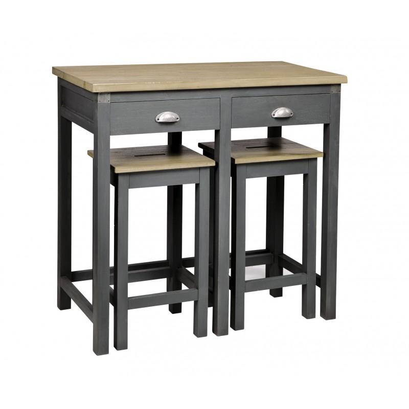 Table De Bar Metro