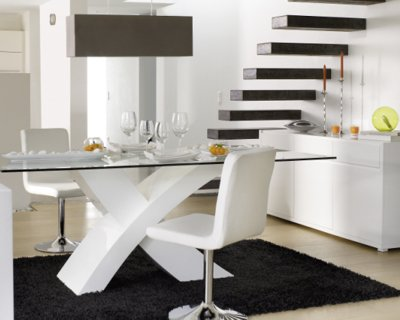 salle a manger fly blanc set de tables basses salon d appoint lit - Salle A Manger Fly Blanc