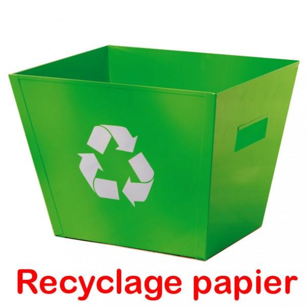 Corbeille A Papier Recyclage