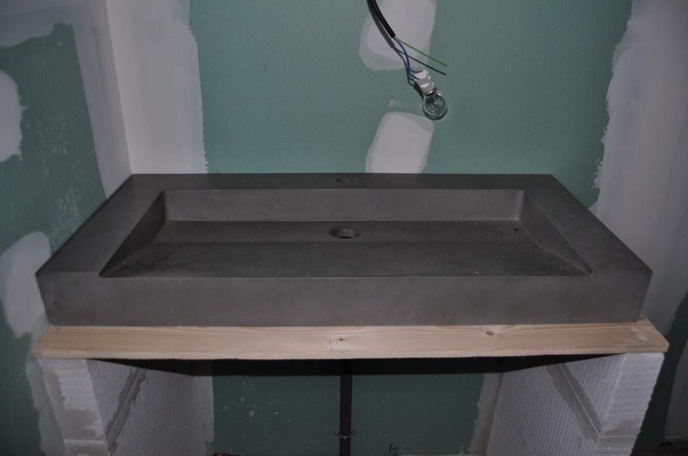 Meuble Vasque En Beton Cellulaire