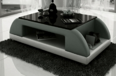 table basse design valina noir et