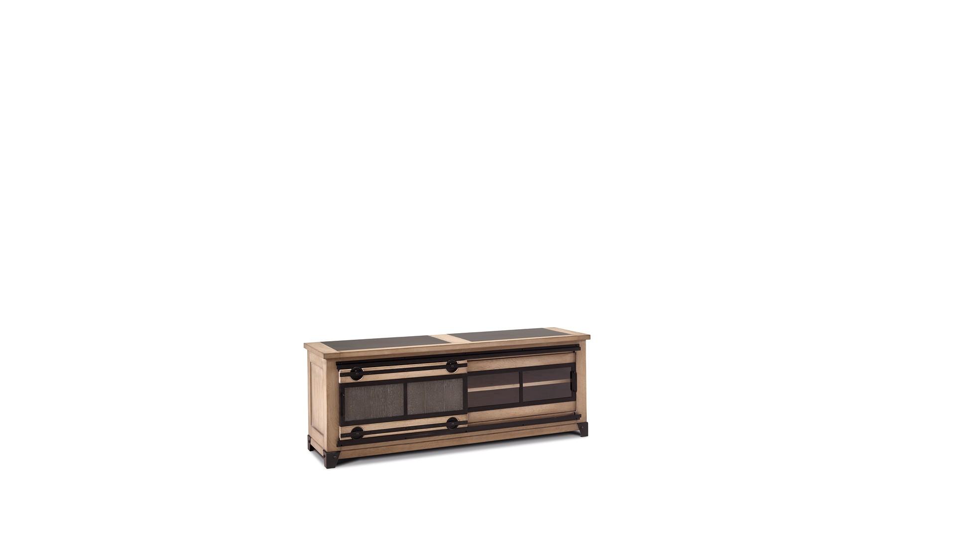 meuble tv 2 portes atelier meuble