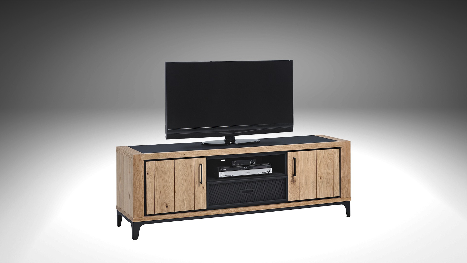 meuble tv home cinema kraft meuble