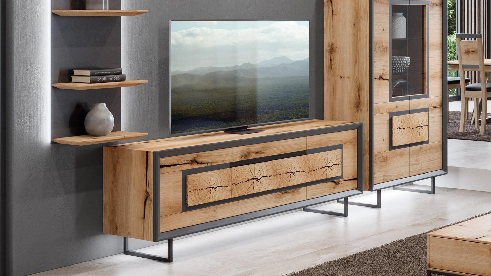 meuble tv chalet un salon haut de gamme