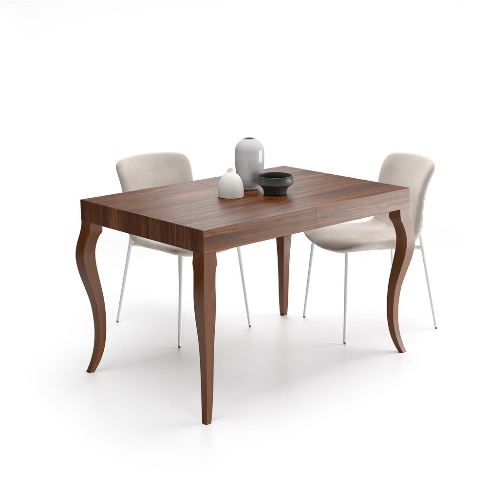 table extensible classico noyer