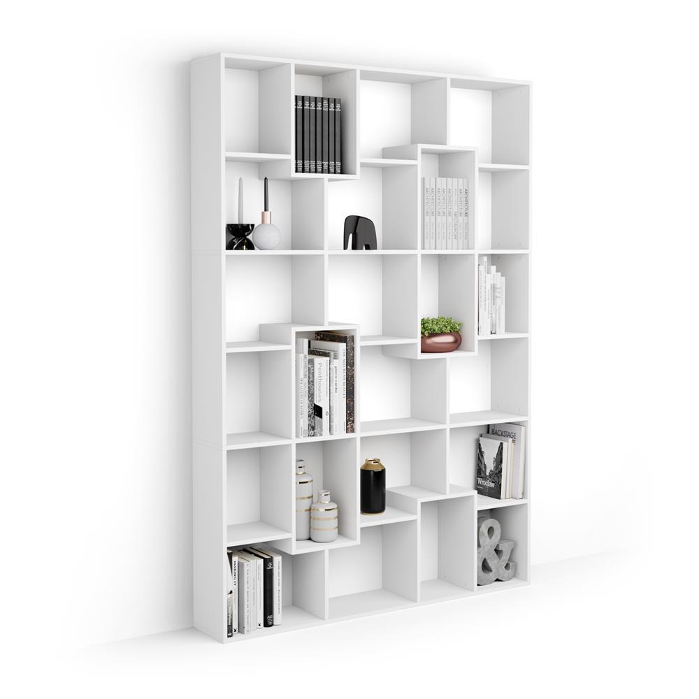 bibliotheque m iacopo 160 8 x 236 4 cm frene blanc