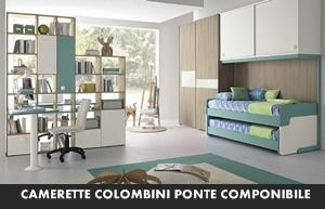 CAMERETTE COLOMBINI GOLF PONTE COMPONIBILE – Arredamento a Catania ...