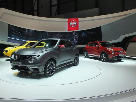 Famille Nissan JUKE Genève 2014