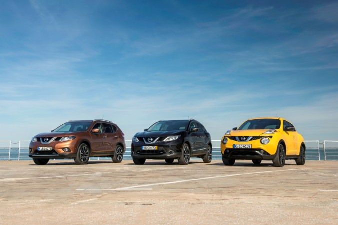 Famille Crossovers Nissan