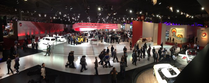 Panorama Nissan Paris 2014