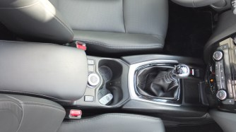Nissan X-TRAIL console centrale