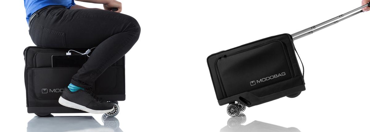 Et si vous vous déplaciez en valise ? Découvrez Modobag