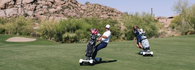Avec Golfboard, faites du Golf en vous déplaçant en skate