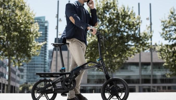 Vélo Electrique Peugeot Cycles eF01