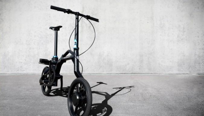 Vélo Pliant Peugeot Cycles eF01