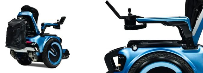 Scewo le fauteuil roulant qui monte les escaliers