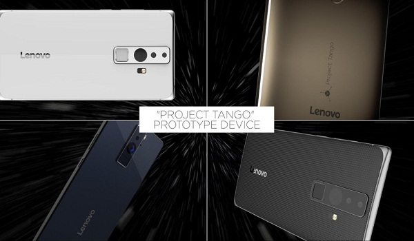 lenovo - project tango phone