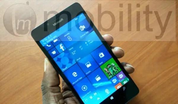 using Lumia 950