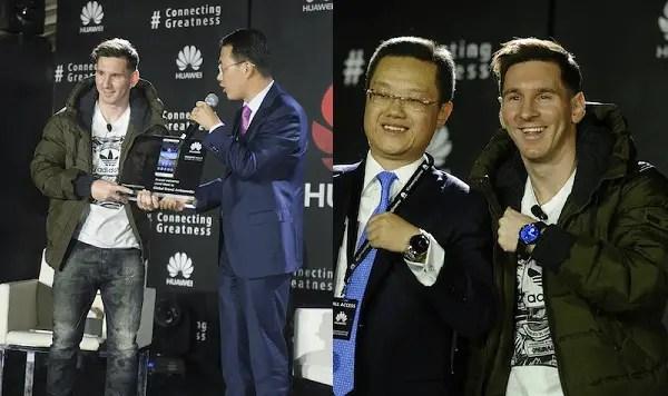 Huawei Messi a b
