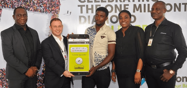 diamond bank one millionth