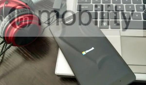 lumia950 bootup