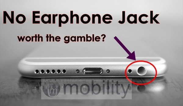 no headphone jack