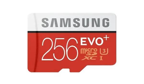 256GB micro SD
