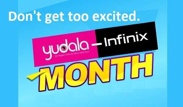 yudala infinix month