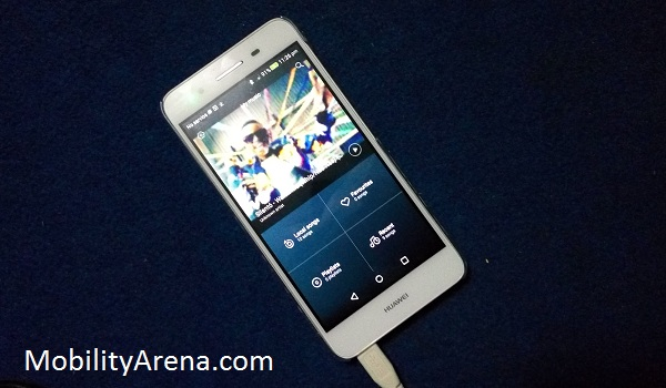 Huawei GR3 review - music app