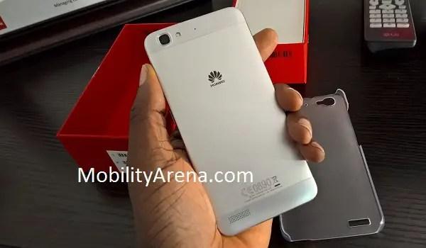 Huawei GR3 rear