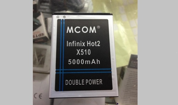 Infinix-Hot2-X510-5000mah