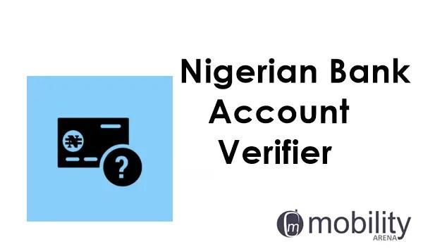 verify any Nigerian Bank Account