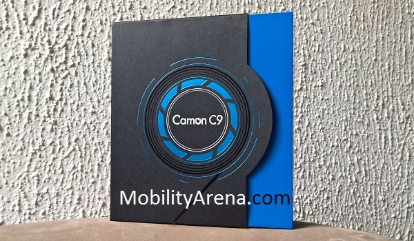 TECNO Camon C9 Photos box