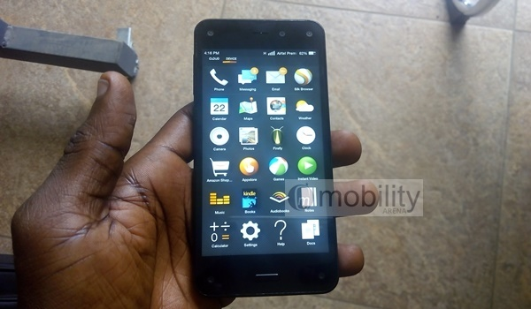 Amazon Fire Phone - front