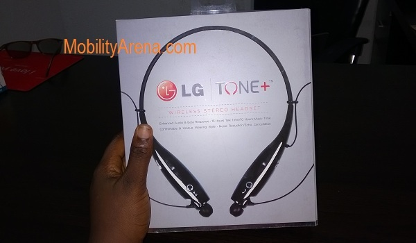 LG Tone Bluetooth Headset pack