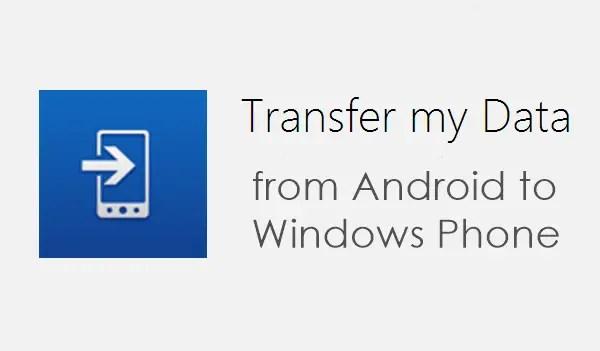 Transfer My Data