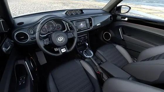 2017 volkswagen beetle dashboard