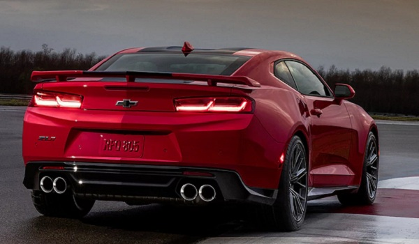 2017 Chevrolet Camaro ZL1 rear