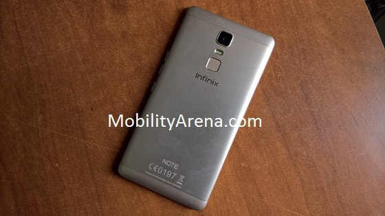 Infinix Note 3 Photos rear-min